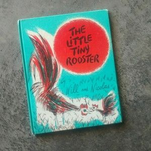 1960 The Tiny Rooster Vintage Childrens' Book